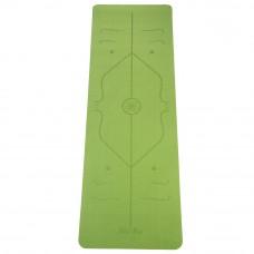Коврик Devi Yoga Fruits с разметкой (183x61 см, 5 мм) для йоги
