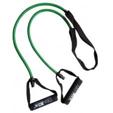 Амортизатор трубчатый Inex с защитным рукавом, зеленый
