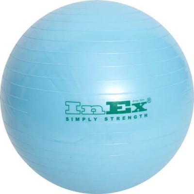 Фитбол Inex 55 см голубой