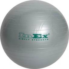 Фитбол Inex 65 см серебристый