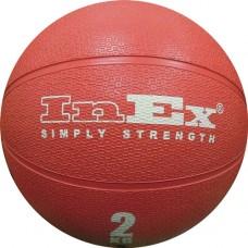 Мяч Набивной Medicine Ball 2 кг красный