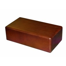 Блок Премиум из сосны лакированный (23x12x8 см) для йоги