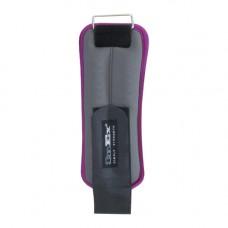Отягощения для рук и ног фикс. Inex фиолетовые 2x1 кг