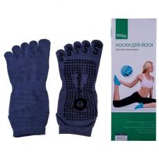 """Носки для йоги """"5 пальцев"""" Medolla"""