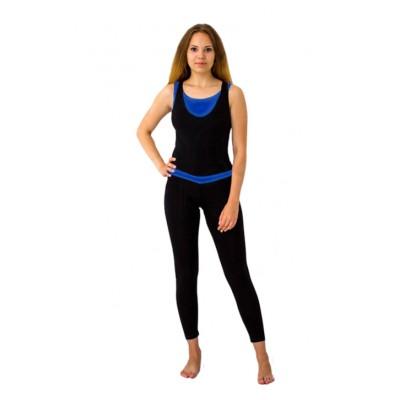 Комбинезон Селена (черный/синий) 164 см, M