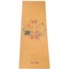 Коврик для йоги Ganesha (183x61 см, 4 мм)
