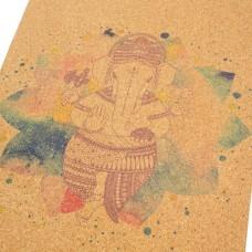 Коврик Devi Yoga Ganesha (183x61 см, 3 мм) для йоги