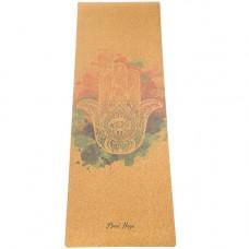 Коврик для йоги Hamsa (183x61 см, 4 мм)