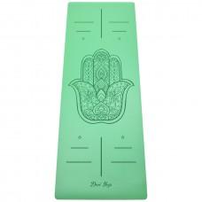 Коврик Devi Yoga Hamsa NON SLIP (185х68 см, 4 мм) для йоги