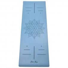 Коврик Devi Yoga Mandala NON SLIP (185х68 см, 4 мм) для йоги