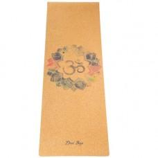 Коврик Devi Yoga Mantra (183x61 см, 3 мм) для йоги