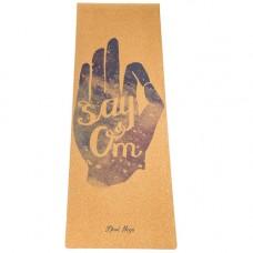 Коврик для йоги Say Om (183x61 см, 4 мм)