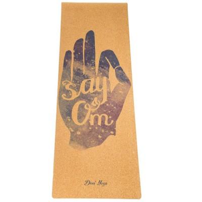 Коврик Devi Yoga Say Om (183x61 см, 3 мм) для йоги