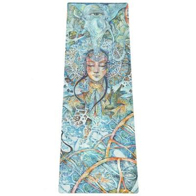 Коврик Devi Yoga Яна (Veda Ram) (183x61 см, 3,5 мм) для йоги