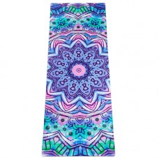 Коврик Devi Yoga Акварель (183x61 см, 3,5 мм) для йоги
