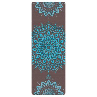 Коврик Devi Yoga Бирюза (173x61 см, 3,5 мм) для йоги