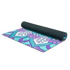 Коврик Devi Yoga Лесной Travel (183x61 см, 1 мм) для йоги