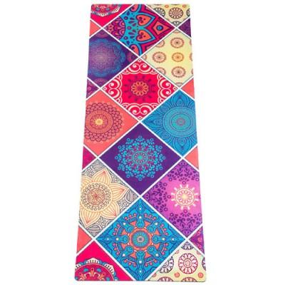 Коврик Devi Yoga Лоскутный Travel (183x61 см, 1 мм) для йоги