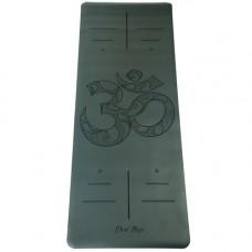 Коврик Devi Yoga OM NON SLIP (185х68 см, 4 мм) для йоги